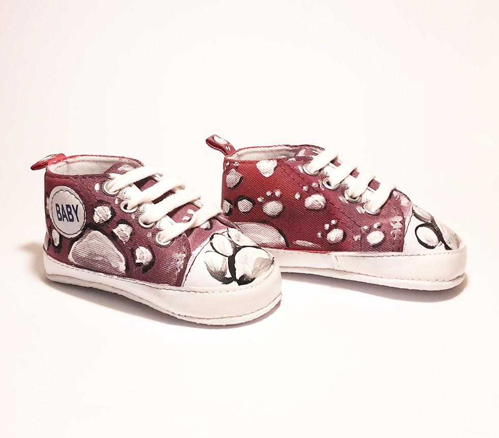 c8dd04726e Ručne maľované tenisky Labka - Botis.sk - Predaj obuvi pre bábätká